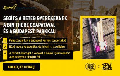 Licitálj a BudapestPark - BinThere jótékonysági aukciókra
